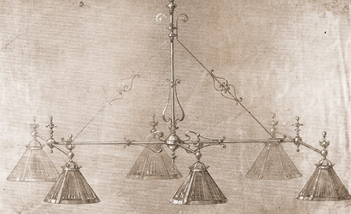 Electrolier 19th century