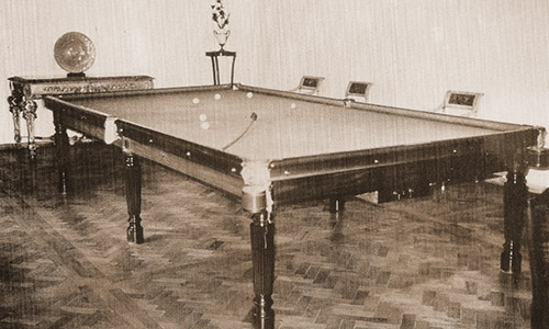Gillows Billiard table