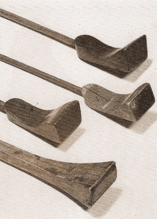 Old Billiard maces