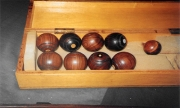 Rare minature Billiard table balls