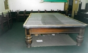 Dismantling table showing slate bed - 5 slates