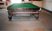 Geo Wright huge leg table in rare Cuban mahogany timber