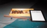 Minature table balls