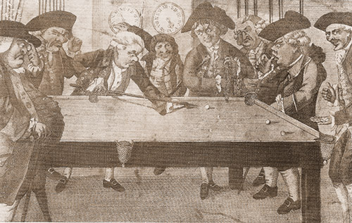Billiards after Hogarth 2