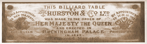 Name plate - Queen Victoria